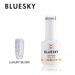 Ημιμόνιμο βερνίκι BLUESKY GEL POLISH 15ML Luxury Silver