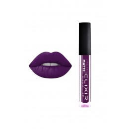 Liquid Lip Matte – #411 (Very Dark Purple)