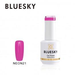Ημιμόνιμο βερνίκι BLUESKY GEL POLISH 15ML NEON21