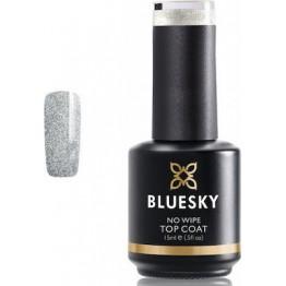 BlueSky  Glitter Top Coat No Wipe 15ml