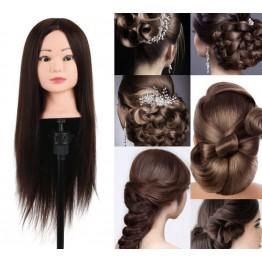 Εκπαιδευτική κούκλα με μακρύ μαλλί 55cm •Αριστη  Ποιότητα τρίχας: φυσική  ΑΑ!! Με βαση