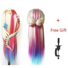 Εκπαιδευτική κούκλα με μακρύ μαλλί •Αριστη  Ποιότητα τρίχας:συνθετική ΑΑ!! Χρωματιστή 70cm