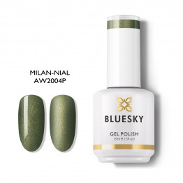 Ημιμόνιμο βερνίκι BLUESKY GEL POLISH 15ML MILAN-NAIL AW2004P