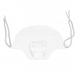 Διάφανη πλαστική μάσκα προσωπίδα προστασίας πολλαπλών χρήσεων