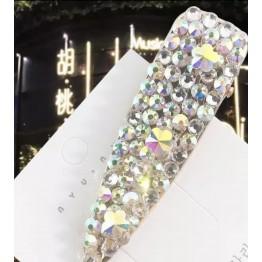 Γυναικείο fashion clip- κοκαλάκι μαλλιών με διαμαντακια