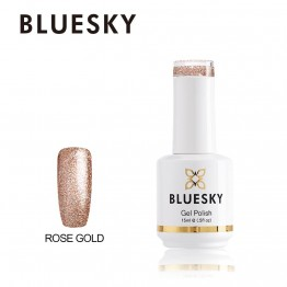 Ημιμόνιμο βερνίκι BLUESKY GEL POLISH 15ML Rose Gold
