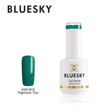 Ημιμόνιμο βερνίκι BLUESKY GEL POLISH 15ML AW1810 Vigorous You