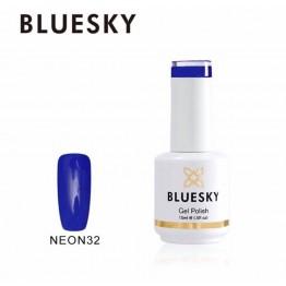 Ημιμόνιμο βερνίκι BLUESKY GEL POLISH 15ML NEON32