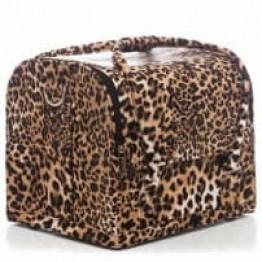 Βαλίτσα μακιγιάζ αισθητικής OEM τιγρέ