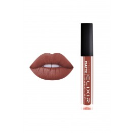 Liquid Lip Matte – #404 (Light Mahogany)