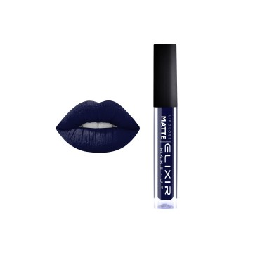 Liquid Lip Matte – #412 (Blue Black)