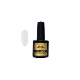Ημιμόνιμο βερνίκι ELIXIR SEMIGEL TOP COAT-NO WIPE 801 8ml